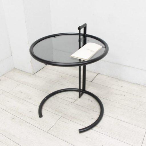 Cassina カッシーナ ClassiCon クラシコン E-1027 サイドテーブル マットブラック EILEEN GRAY アイリーン・グレイ
